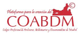 Plataforma para la creación del Colegio Profesional de Archiveros, Bibliotecarios y Documentalistas de Madrid