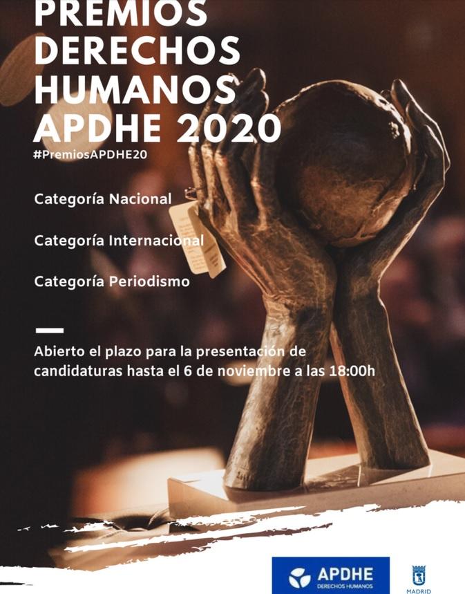 Premios Derechos Humanos APDHE 2020